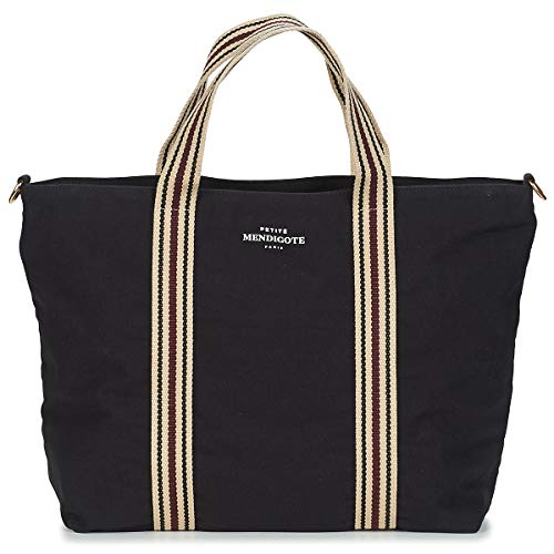 Petite Mendigote CLEA Tote Bag/Borsa Shopping Femmes Nero - Unica - Tote Bag/Borsa Shopping