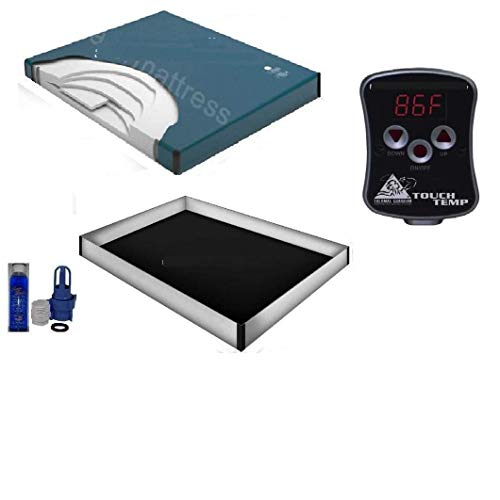 95% waveless waterbed Mattress with 12 mil Liner,...