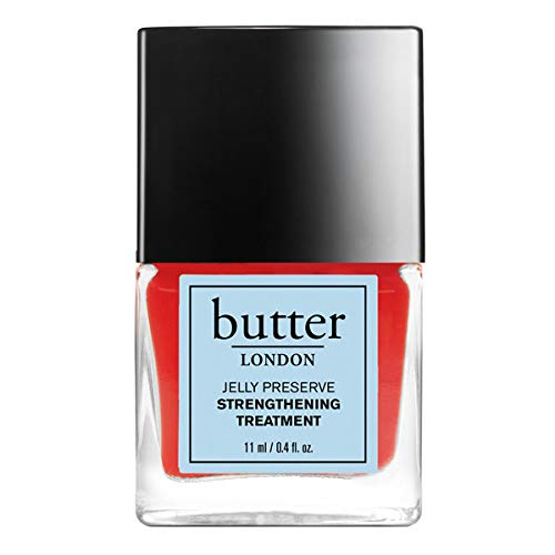 butter LONDON Strawberry Rhubarb Jelly Preserve Strengthening Treatment, 0.4 fl. oz.