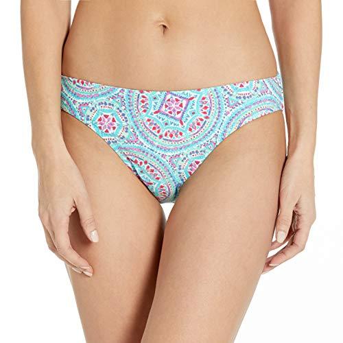 Helen Jon Women's Mandalay Classic Hipster Bikini Bottom, Multi, X-Small