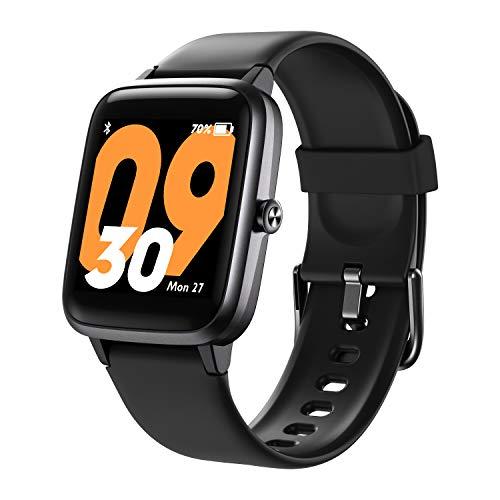 Vigorun Montre Connectée Femmes Homme, Smartwatch Montre Sport GPS Etanche 5ATM Montre Intelligente...