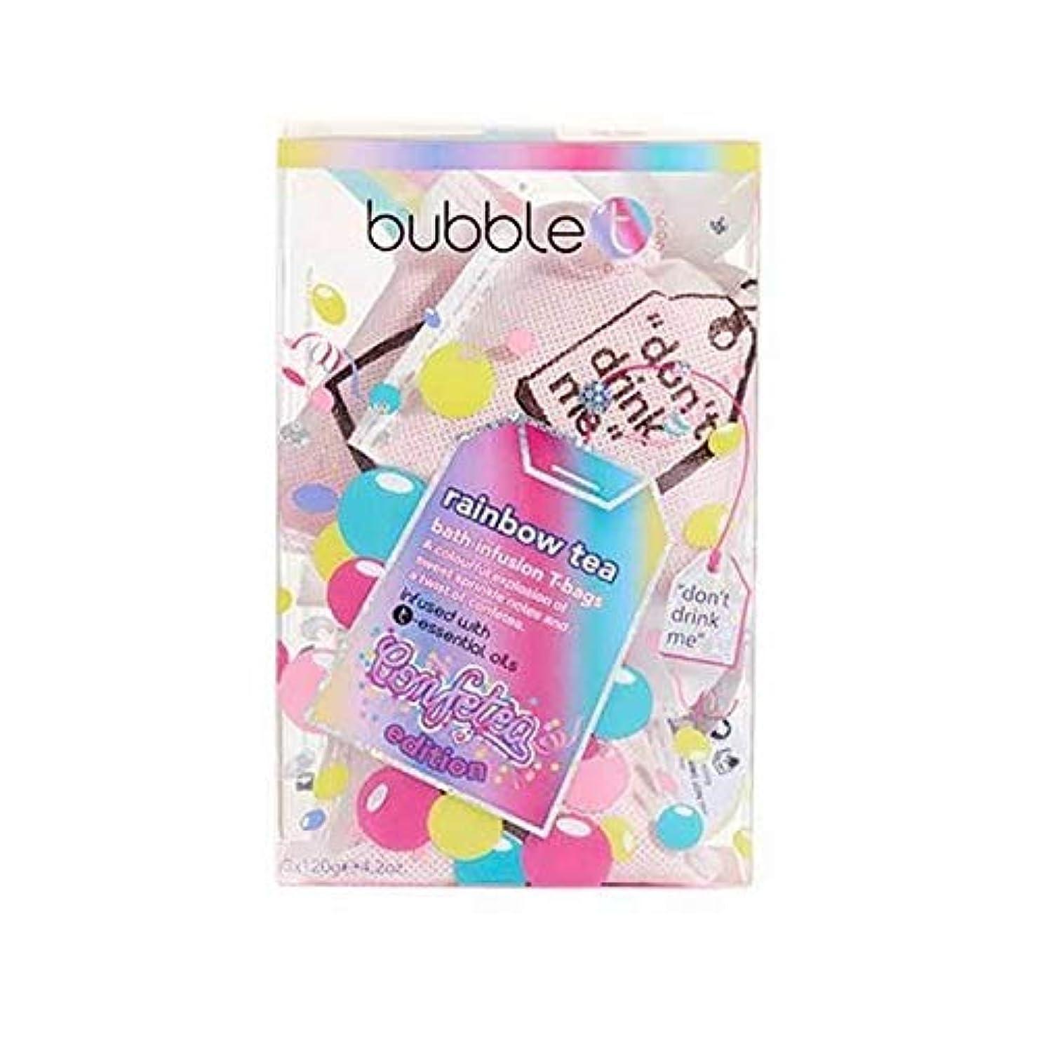 の間にアラブサラボのど[Bubble T ] バブルトンの化粧品 - 入浴輸液ティーバッグ虹のお茶 - Bubble T Cosmetics - Bath infusion tea bags Rainbow tea [並行輸入品]