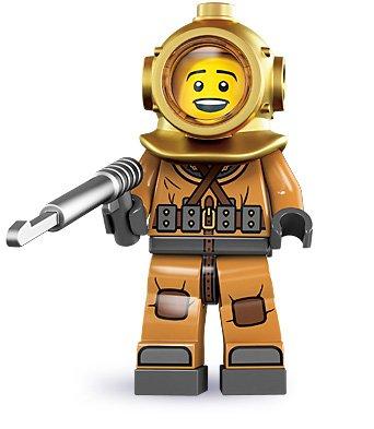 LEGO 8833 Minifigure Series 8 - Diver