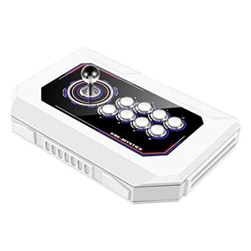 Wsaman Domestica Mini Palmari Console Arcade retrò, Gioco Controllo della Luce Respiratoria A 8 Colori con Pulsanti Personalizzati Joystick Domestico per ComputerTV Proiettore Console
