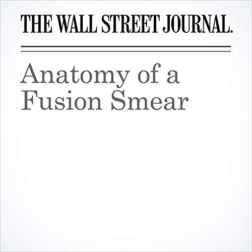 Anatomy of a Fusion Smear copertina