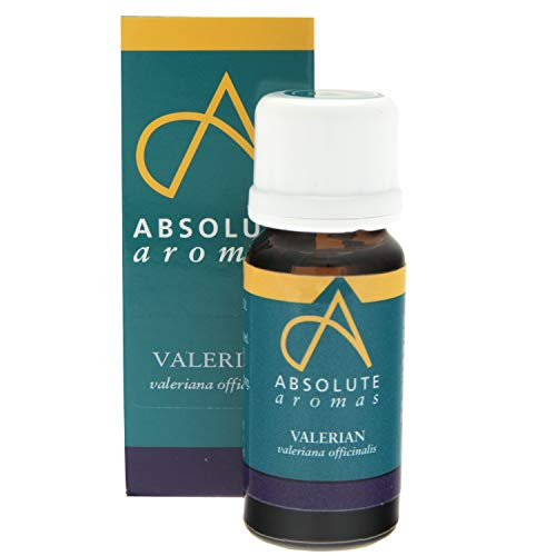 Absolute Aromas Valerian 10ml Essential Oil - 100% Pure, Natural, Undiluted and Vegan Friendly