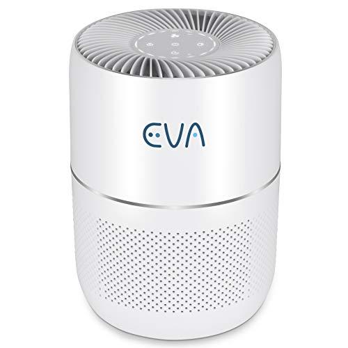 EVA Alto one, The Quietest Air Purifier 16dB, True HEPA, Active Carbon - 30m2 Medium Room Coverage