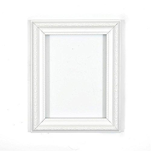 Memory Box Bilderrahmen mit Plexiglas, 20 x 28 cm, Weiß