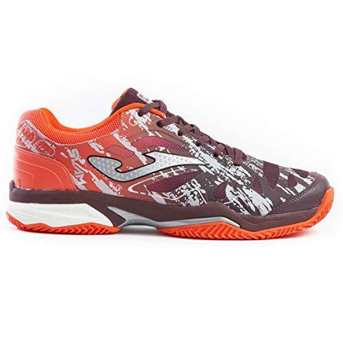 Joma T_Slam 906 Scarpa Uomo - Zapatillas de Tenis, Color Rojo