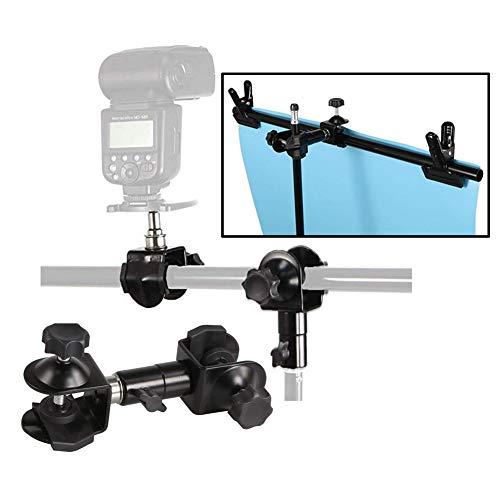 W C-Type 2 in 1 Camera Paraplu Houder Clip Klem Beugel Ondersteuning voor Statief Licht Stand Outdoor Fotografie. E