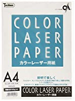 SAKAEテクニカルペーパー コピー用紙 カラーレーザー用紙 両面光沢紙 A4 50枚 LBP-100L-A4B