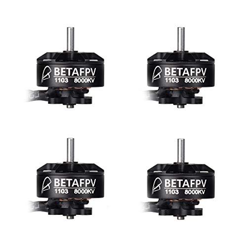 BETAFPV 4pcs 1103 Motor 8000KV Brushless Motors for Beta75X FPV Racing Drone Micro Quadcopter Brushless Whoop Drone