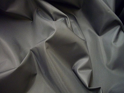 Nylon Fabric Waterproof Material 4oz by The Meter (Grey)
