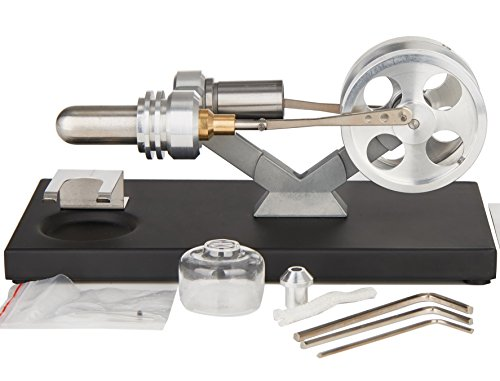 Sunnytech Hot Air Stirling Engine Education Toy Electricity Power (SL02M)