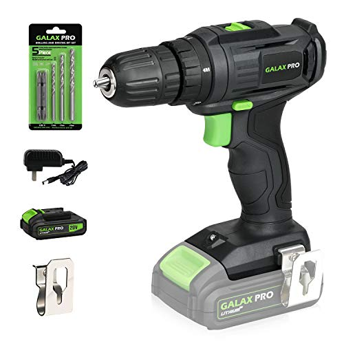GALAX PRO 2-Speed Compact Drill 20V MAX Lithium-Ion Drill/Driver, 3/8