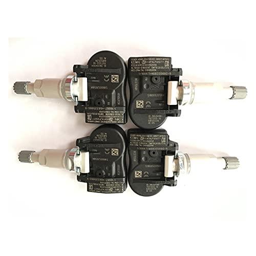 FANGFANG Want Want Lin 4pcs Ajuste para BMW F20 F21 F22 F23 F31 F31 F34 F45 F46 F80 F87 TPMS Sensor de presión de presión de neumáticos 70735510 36106856209 433MHz