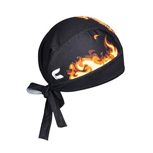 Bandana Radfahren Schädel Feuer - 2
