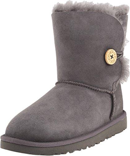 UGG 5991 Kid's Bailey Button, Unisex - Kinder Stiefel, Grau (grey grey), EU 31, (US k01)