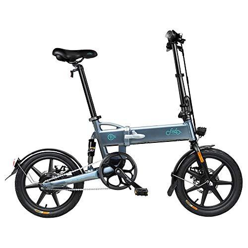 FIIDO D2 Bici Elettrica Pieghevole con Pedali, Lega di Alluminio...