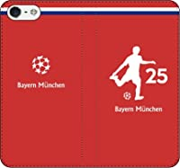 iPhone7/7Plus対応/iPhone用選択可:サッカー手帳ケース(バイエルン_25番_A)レザー/手帳型 iPhone6 Plus/6s Plus用