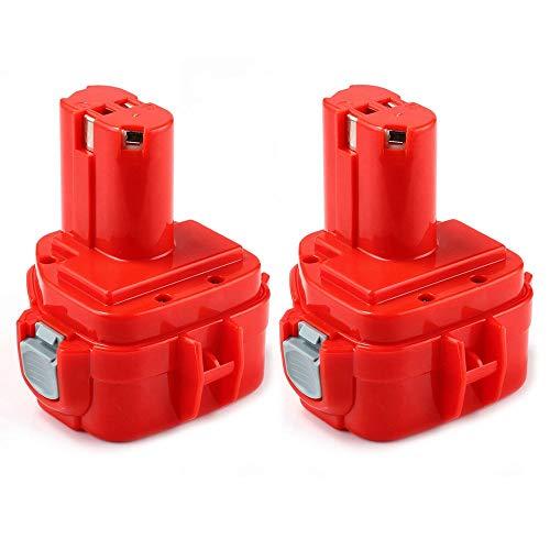 Venghts 2Packs PA12 para Makita 12V 3.0Ah Batería de Repuesto 1220 1222 1233 1200 1234 1235 1235B 1235F 1235A