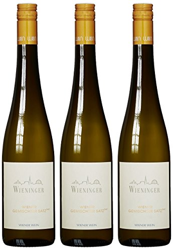 Weingut Wieninger Wiener Gemischter Satz 2019 Trocken (3 x 0.75 l)