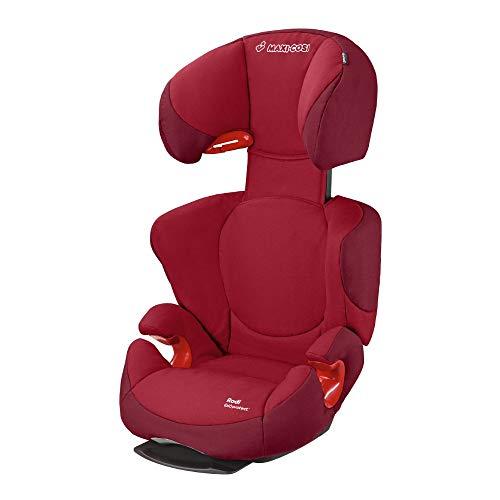 Maxi-Cosi Rodi AirProtect Kindersitz - höhenverstellbarer Autositz mit komfortabler Ruheposition, Gruppe 2/3 (15-36 kg), nutzbar ab 3,5 bis 12 Jahren, robin red