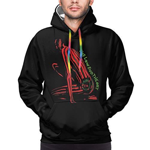 The Low End Theory Men'S Fashion Pullover Hood Long Sleeve Hoodie Sweatshirt
