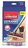 Vileda UltraMat Sensitive Wischbezug, für empfindliche Böden, passend zum UltraMat Wischer, 1 Stück