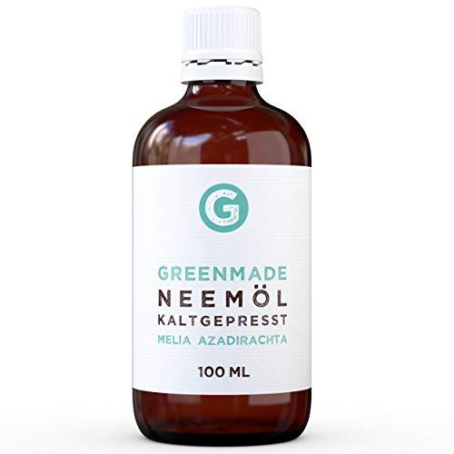 Neemöl kaltgepresst 100ml - 100% reines Öl von greenmade