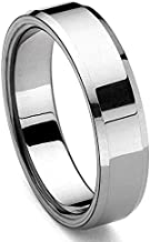 Eric Designs Tungsten Polished Men's Wedding Ring Size 5-15.5