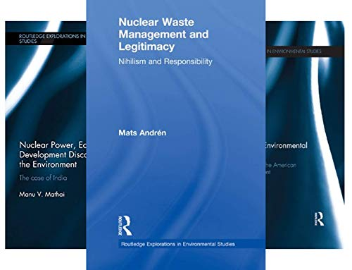 Routledge Explorations in Environmental Studies (50 Book Series)