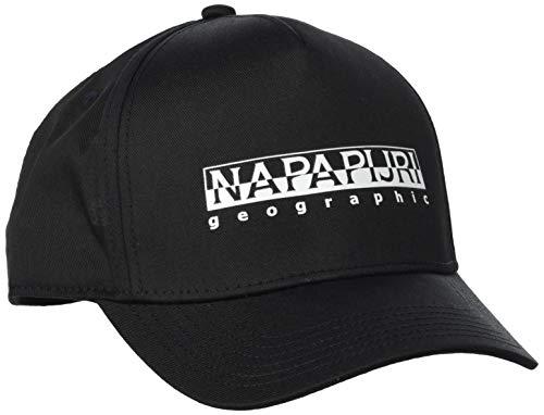 Napapijri K Framing 1 Gorra, Negro (Black 0411), 2 (Talla del Fabricante:...