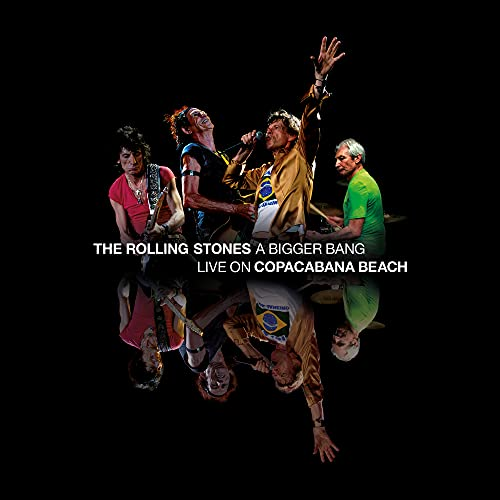 The Rolling Stones - A Bigger Bang live on copacabana beach [Édition Deluxe 2 Blu-ray + 2 CD + Livre - Tirage limité] [Édition Deluxe 2 Blu-ray + 2 CD + Livre]