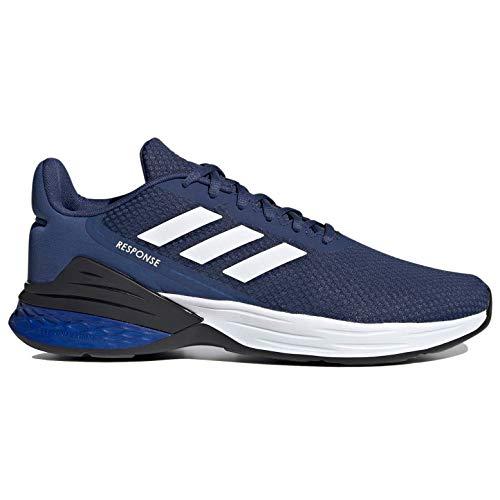 adidas Men's Response SR Running Shoe, Indigo/White/Royal Blue, 9