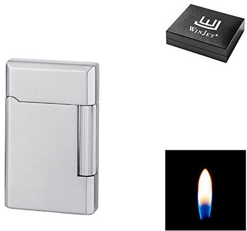 Winjet Premium Feuerzeug - Humidor - chrom gebürstet