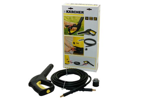 Karcher Replacement 7.5M High Pressure Hose And Hand Gun - Quick Connect System for K1 K2 K3 K4 5K 6K K7 SERIES