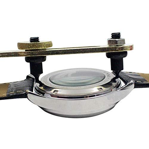 Hahuha Fallentferner, Zwei Fuß Uhrengehäuse Back Opener Wrench Remover Tool Reparieren von Zubehör, Andere