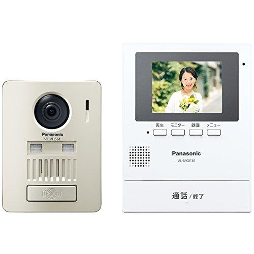 パナソニック(Panasonic) モニター壁掛け式ワイヤレステレビドアホン VL-SGE30KL