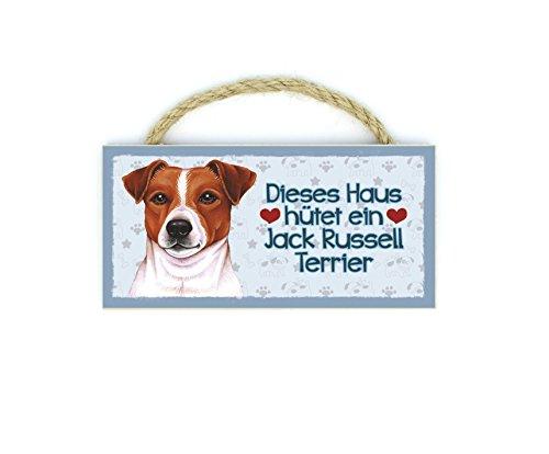 Jack Russell Terrier - Imán para frigorífico de madera con cordón 31