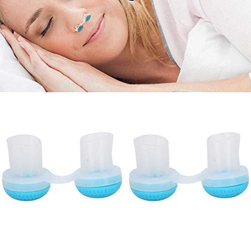 Dispositivos antirronquidos, mini orificios nasales Tapón de ronquidos Dilatador nasal Purificador de aire antirronquidos Aparato respiratorio nasal Ayuda respiratoria Dilatador nasal Mejora el sueño