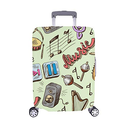 Mother Day Spandex Trolley Case Travel Luggage Protector Suitcase Cover 28.5 X 20.5 Inch