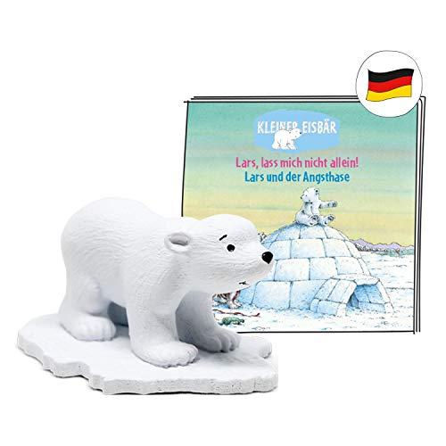 tonies Hörfiguren für Toniebox - Hörspiel mit LARS der KLEINE EISBÄR: Lars, Lass Mich Nicht allein!, Lars und der Angsthase Figur - ca. 21 Min - ab 4 Jahre - DEUTSCH