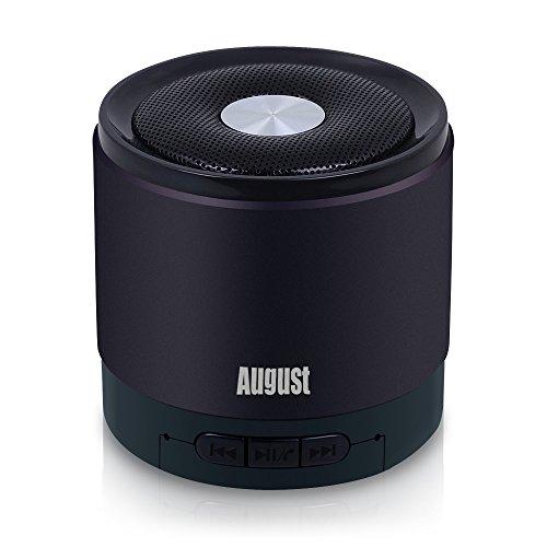 August MS425 Mini Altoparlante Bluetooth con Microfono...