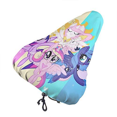 DNBCJJ Funda para sillín de bicicleta, My Little Pony, impermeable, resistente al polvo, para exteriores