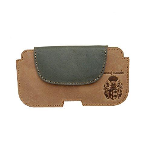 BARON of MALTZAHN iPhone-Hülle, Smartphonetasche, Gürteltasche MEUCCI aus Leder