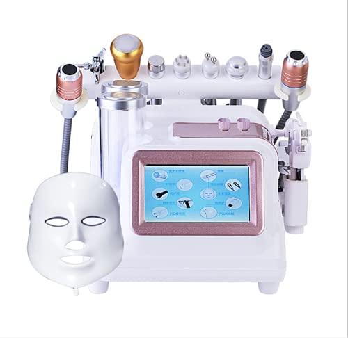 Crtkoiwa Máquina Facial Hidrógeno y Oxígeno, microbullas con chorro de agua 7 en 1 para eliminar los puntos negros, máquina facial hidráulica, equipo de belleza en el hogar, belleza médica