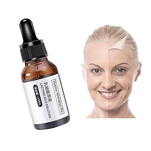 nnko Wrinkless Anti-Aging Serum, Pore Cleansing Serum Lactobionic Acid Serum Boost Skin Collagen, Brighten Hydrate & Plump Skin, Always Young (1PC)