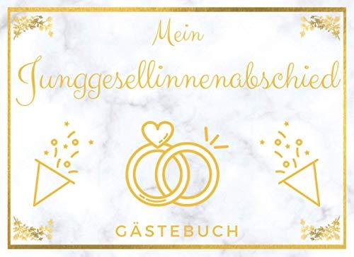 Junggesellinnenabschied Gästebuch: Erinnerungsbuch und Fotoalbum   Ideales Geschenk zum JGA und vor der Hochzeit  