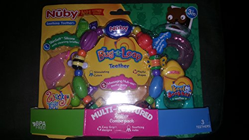 Price comparison product image nuby ice gel teether keys combo pack